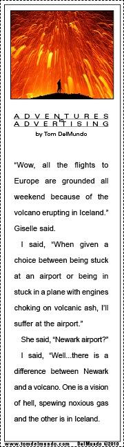Iceland Eruption and Newark